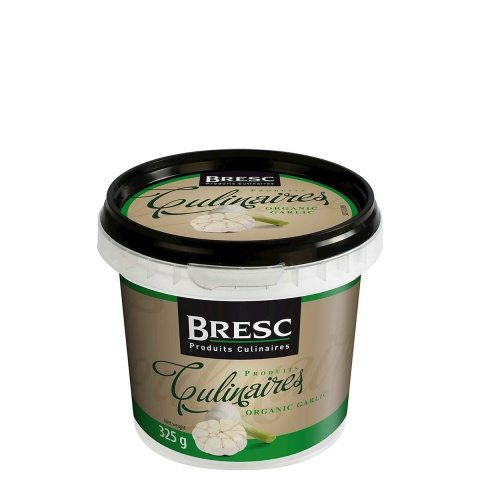 Organic garlic puree 325g